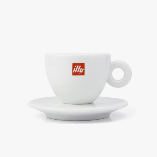 illy 일리 카푸치노 컵 (illy logo Cappuccino cup)